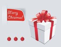 Regalo de Navidad stock de ilustración