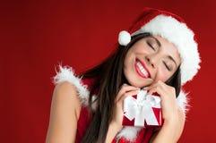 Regalo de Navidad imagen de archivo libre de regalías