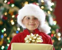 Regalo de Navidad Fotos de archivo libres de regalías
