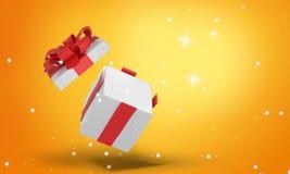 Regalo de Navidad 3d-illustration ilustración del vector