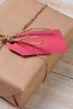 Regalo de Navidad de Eco Friendy Imagen de archivo libre de regalías