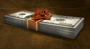 Regalo dei soldi royalty illustrazione gratis