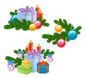 Regalo del Año Nuevo Fotografía de archivo libre de regalías