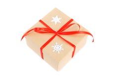 Regalo del Año Nuevo Imágenes de archivo libres de regalías