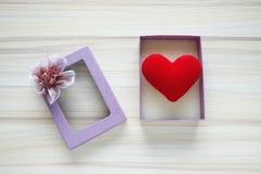 Regalo del amor Fotografía de archivo