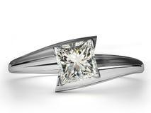 Regalo del anillo de bodas. Fotos de archivo
