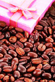 Regalo del caffè Fotografia Stock Libera da Diritti