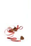 Regalo del chocolate Foto de archivo libre de regalías
