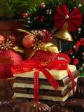 Regalo del chocolate Fotografía de archivo libre de regalías