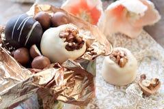 Regalo del cioccolato Immagini Stock Libere da Diritti