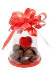 Regalo del cioccolato Fotografia Stock Libera da Diritti