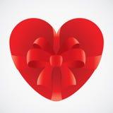 Regalo del cuore Fotografia Stock