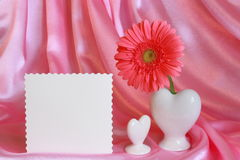 Regalo del día de las tarjetas del día de San Valentín o de madres - foto común Foto de archivo