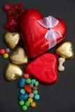 Regalo del día de tarjeta del día de San Valentín Imagenes de archivo