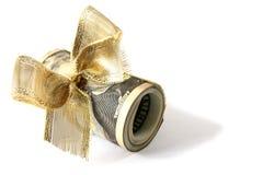 Regalo del dólar Foto de archivo libre de regalías