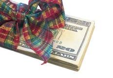 Regalo del dinero Fotografía de archivo libre de regalías