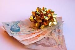 Regalo del dinero Foto de archivo libre de regalías