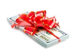 Regalo del dinero Imagen de archivo