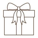 Regalo del diseño de la Feliz Navidad Imágenes de archivo libres de regalías