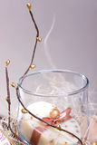Regalo del jabón del balneario Imagenes de archivo
