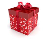 Regalo del misterio y concepto de las sorpresas Imagen de archivo libre de regalías