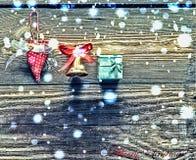 Regalo del ` s del Año Nuevo para su amado Fotografía de archivo