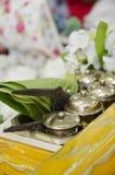 Regalo del sirih di Tepak per nozze del malay fotografie stock