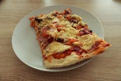 Regalo delicioso de la pizza apta del italiano Fotografía de archivo