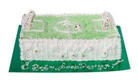 Regalo della torta Fotografie Stock