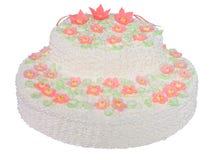 Regalo della torta Fotografia Stock