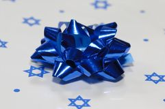 Regalo di Chanukah fotografie stock