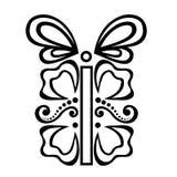 Regalo di festa ornamentale Fotografia Stock