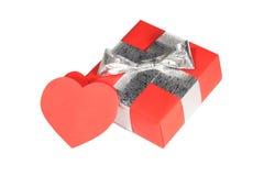 Regalo di giorno dei biglietti di S. Valentino Fotografia Stock Libera da Diritti
