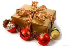 Regalo di Natale Fotografia Stock