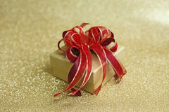 Regalo di Natale Fotografie Stock Libere da Diritti