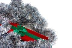 Regalo di Natale isolato Fotografia Stock