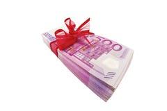 Regalo di soldi Fotografie Stock