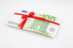 Regalo di soldi Fotografia Stock