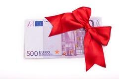 Regalo euro Imagenes de archivo