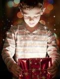 Regalo mágico Fotografía de archivo libre de regalías