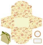Regalo o rectángulo de empaquetado del producto. Imagen de archivo libre de regalías