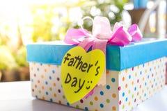 Regalo para el día de padre Foto de archivo libre de regalías