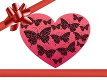 Regalo para el día de tarjeta del día de San Valentín Foto de archivo
