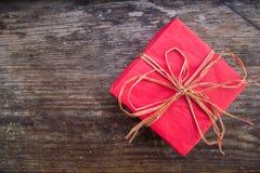 Regalo per il Natale o il compleanno Fotografia Stock Libera da Diritti