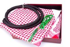 Regalo piegato II del foulard Fotografie Stock