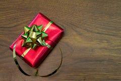 Regalo rojo Imágenes de archivo libres de regalías