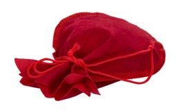 Regalo rojo del bolso Imagen de archivo libre de regalías