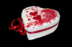 Regalo romántico dulce Imágenes de archivo libres de regalías