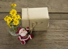 Regalo sul Natale Fotografia Stock Libera da Diritti