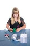 Regalo Wrapping6 Imagen de archivo libre de regalías